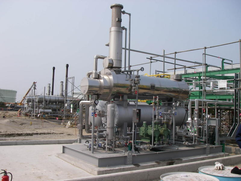 Glycol regeneration equipment