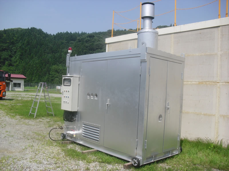 Compact Heater(Exterior)